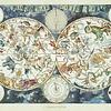 1500 - World Map of Fantastic Beasts
