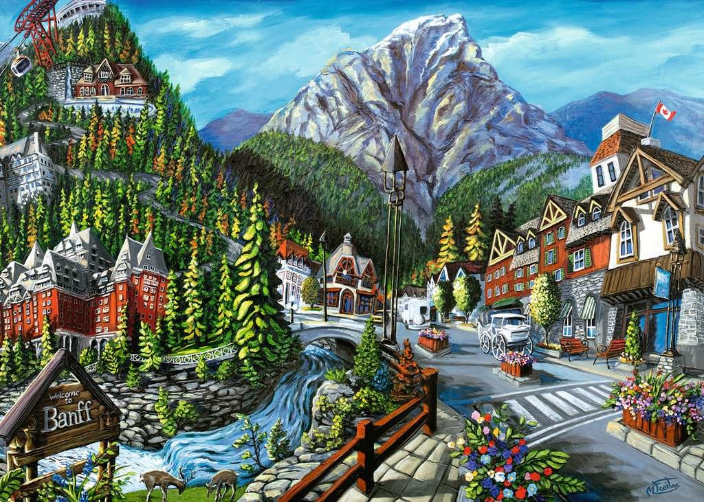 1000 - Canadian Collection - Welcome to Banff