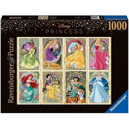 1000 - Art Nouveau Disney Princesses