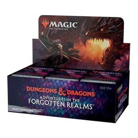 MTG Booster Box - Adventures in the Forgotten Realms Draft Booster  **Comes with Buy-A-Box Promo While Supplies Last**