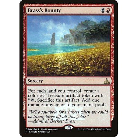 Brass's Bounty - Foil - Draft Weekend Promo