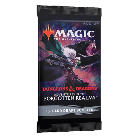MTG Booster Pack - Adventures in the Forgotten Realms Draft Booster