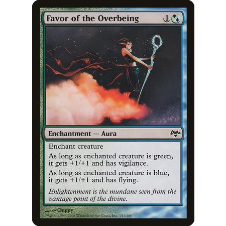 Favor of the Overbeing