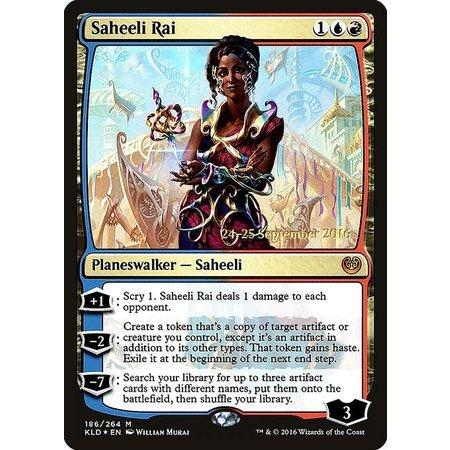 Saheeli Rai - Foil - Prerelease Promo