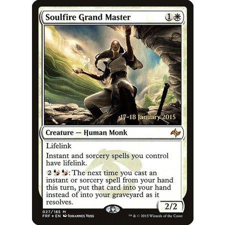 Soulfire Grand Master - Foil - Prerelease Promo