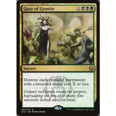 Gaze of Granite