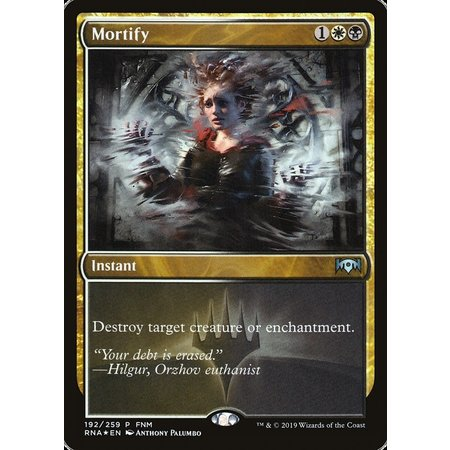 Mortify - Foil - FNM Promo