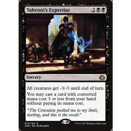 Yahenni's Expertise