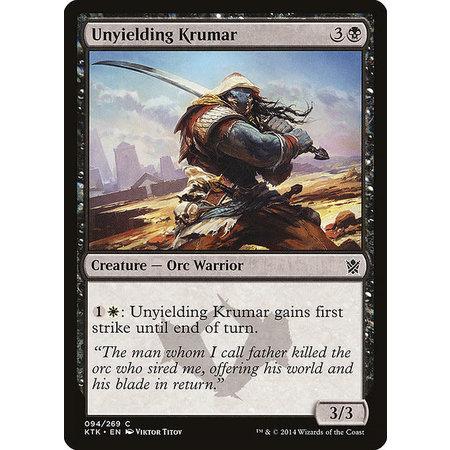 Unyielding Krumar - Foil