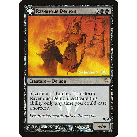 Ravenous Demon - Foil - Prerelease Promo