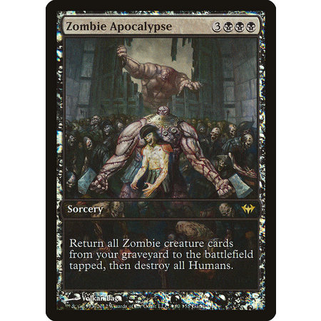 Zombie Apocalypse - Foil - Extended Art Game Day Promo