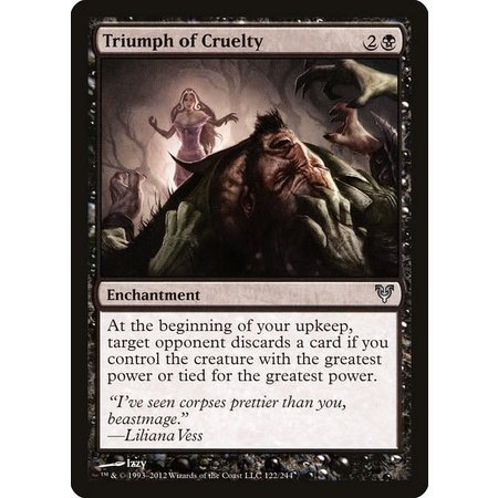 Triumph of Cruelty - Foil
