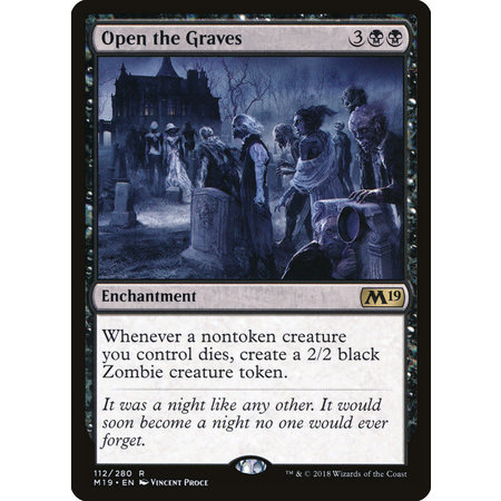 Open the Graves