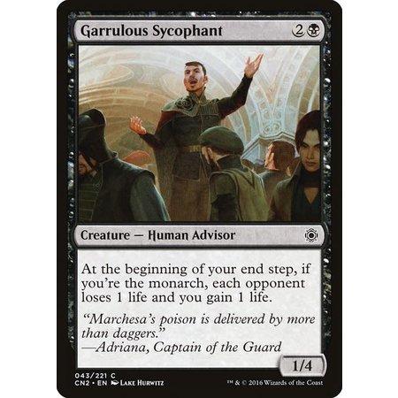 Garrulous Sycophant - Foil