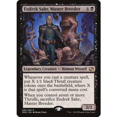 Endrek Sahr, Master Breeder - Foil