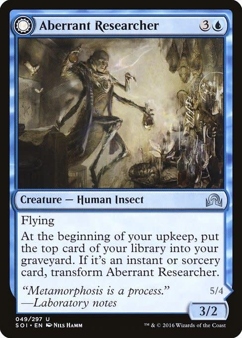 Aberrant Researcher - Foil