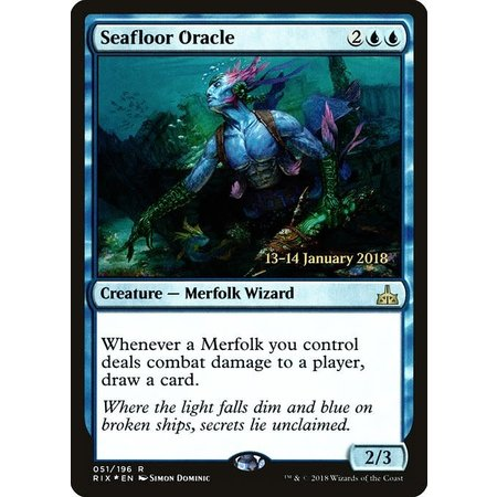 Seafloor Oracle - Foil - Prerelease Promo
