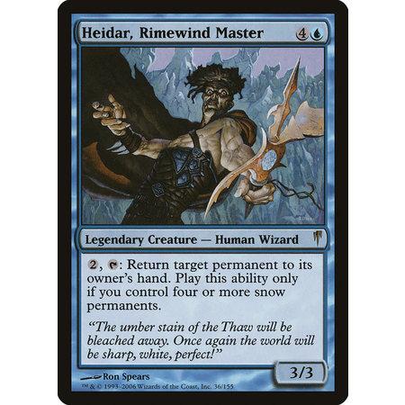 Heidar, Rimewind Master