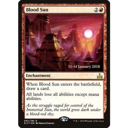 Blood Sun - Foil - Prerelease Promo