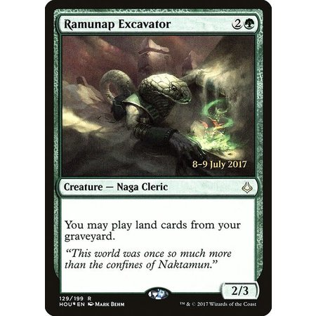 Ramunap Excavator - Foil - Prerelease Promo