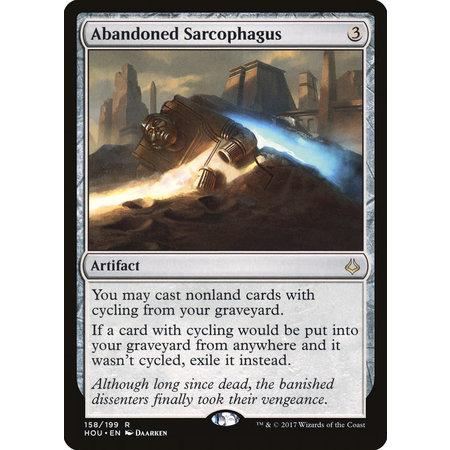 Abandoned Sarcophagus - Foil