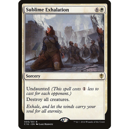 Sublime Exhalation