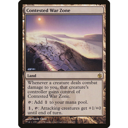 Contested War Zone