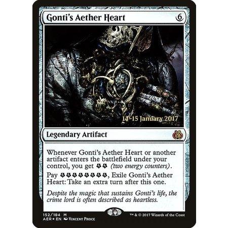 Gonti's Aether Heart - Foil - Prerelease Promo