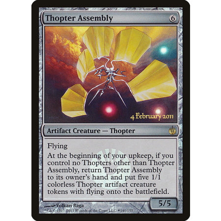 Thopter Assembly - Foil - Prerelease Promo