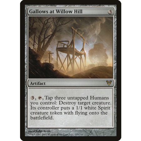Gallows at Willow Hill