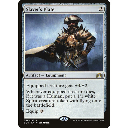 Slayer's Plate - Foil