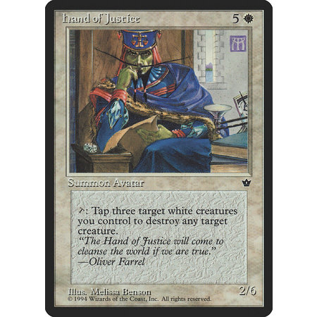 Hand of Justice (HP)