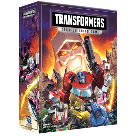 PREORDER - Transformers The Deck Building Game