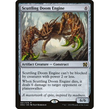 Scuttling Doom Engine