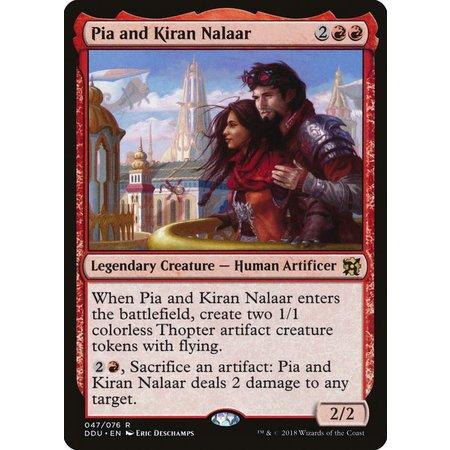 Pia and Kiran Nalaar