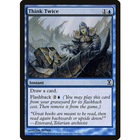 Think Twice - Foil