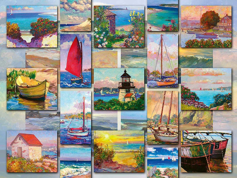 1500 - Coastal Collage