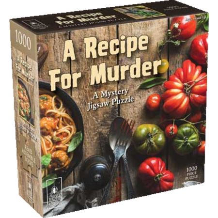 Mystery Puzzle - A Recipe For Murder