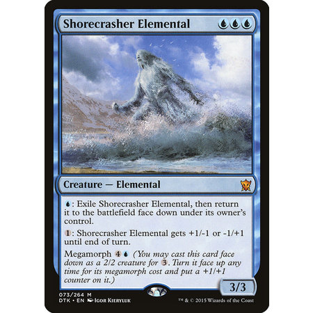 Shorecrasher Elemental - Foil