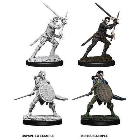 Pathfinder Battles Unpainted Minis - Elf Fighter (Female) [Wave 6]