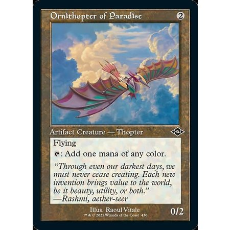 Ornithopter of Paradise - Foil