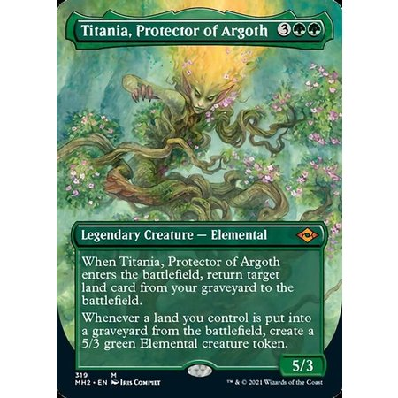 Titania, Protector of Argoth - Foil