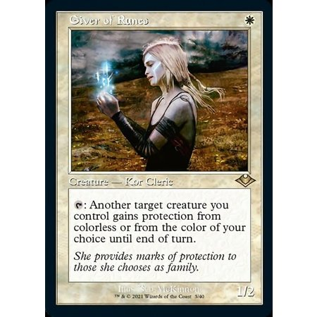 Giver of Runes - Foil-Etched