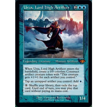 Urza, Lord High Artificer - Foil-Etched