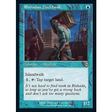 Rishadan Dockhand - Foil-Etched