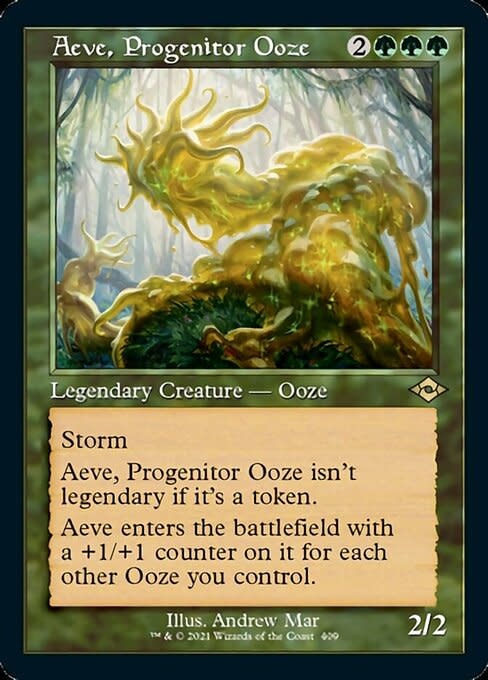 Aeve, Progenitor Ooze - Foil-Etched