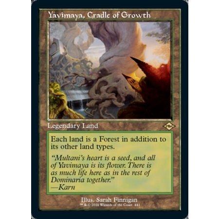 Yavimaya, Cradle of Growth - Foil-Etched