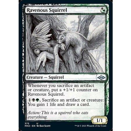 Ravenous Squirrel - Foil