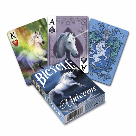 Bicycle Playing Cards - Unicorns by Anne Stokes & John Woodward Deck