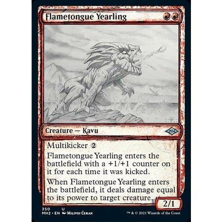 Flametongue Yearling - Foil